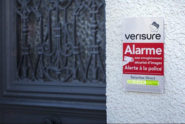 Autocollant Alarme Panneau Alarme Pour Dissuader Les